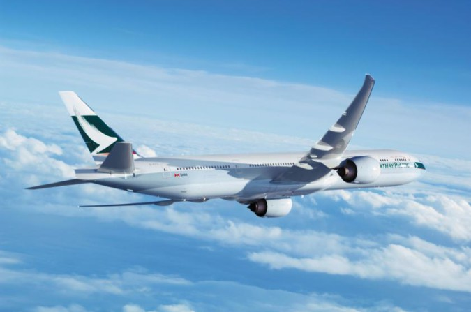 Boeing 777 - Cathay Pacific
